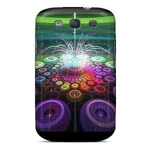 Cute High Quality Galaxy S3 Fractal Fountain Case