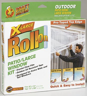 Shurtech Brands Roll On Exterior Patio Door Insulator Kit