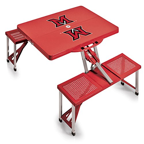 NCAA Miami Ohio Redhawks Portable Picnic Table
