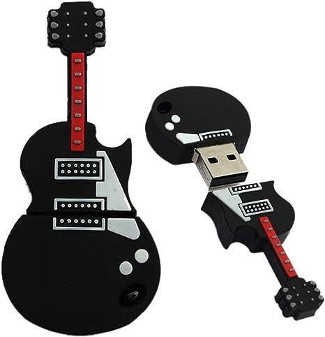 tonsee Mode U Disk Pendrive dibujos animados musicales guitarra Musical Nota lápiz conductor 4 GB8GB 16 GB 32 GB unidad flash USB 16GB Talla:negro: Amazon.es: Deportes y aire libre
