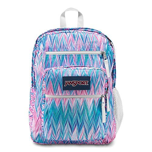 Painted Pocket - JanSport Big Student Backpack - Painted Chevron - Oversized