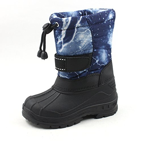 SkaDoo Cold Weather Snow Boot (Toddler/Little Kid/Big Kid) Many Colors Blue Camo