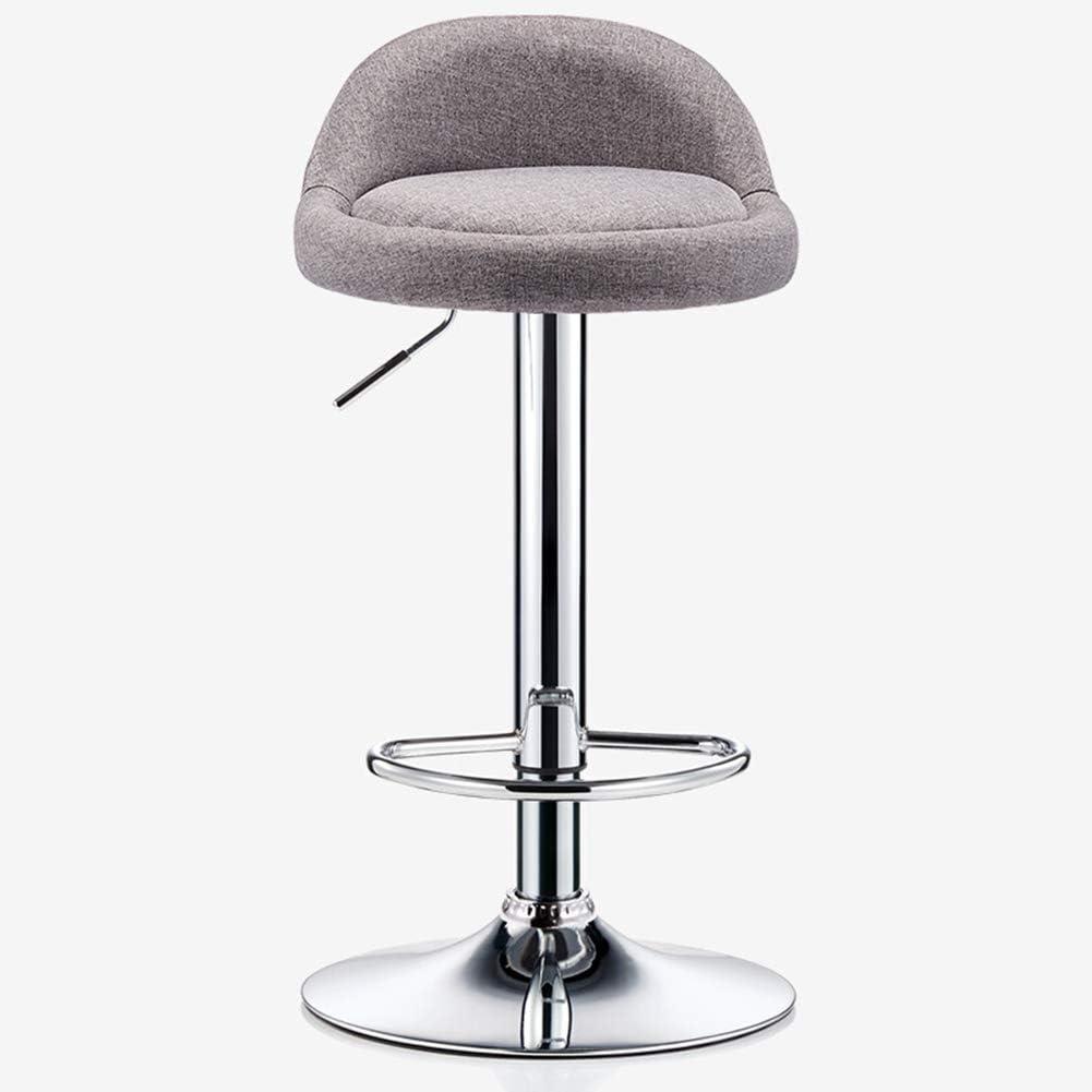 Amazon.com: Adjustable bar Stool, revolving bar Chair with Back