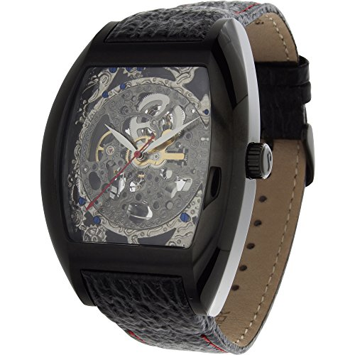 1302LSLL Beethoven's 2nd Analog Display Automatic Self Wind Black Watch ()