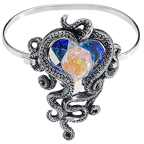 Heart of Cthulhu Sprung Bracelet (Alchemy Gothic Bracelet)