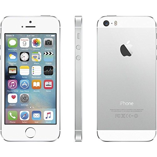 amazon com apple iphone 5s 16gb silver boost mobile cell phones