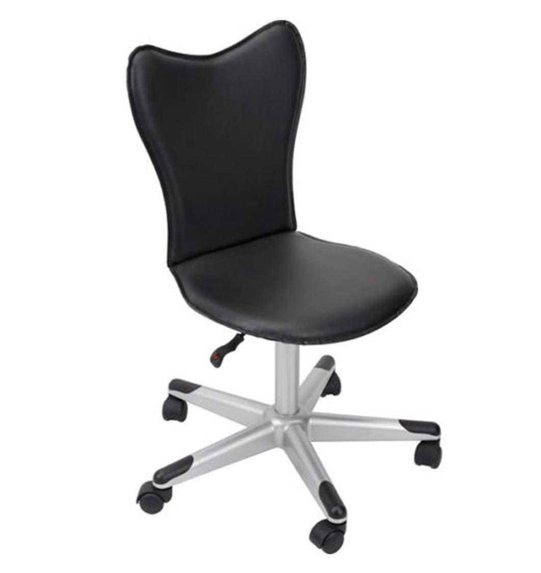 Amazon.com: True Innovations Student Swivel Desk Chair, Padded/Adjustable  Seat, Black: Kitchen U0026 Dining