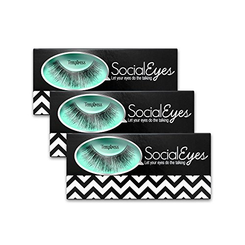 SocialEyes Temptress Bundle Cruelty Eyelashes product image