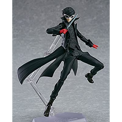 Max Factory Persona 5: Joker Figma Action Figure: Toys & Games