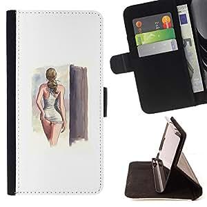 - Queen Pattern FOR Samsung Galaxy S4 IV I9500 /La identificaci????n del cr????dito ranuras para tarjetas tir????n de la caja Cartera de cuero cubie - sexy lingerie swimsuit model