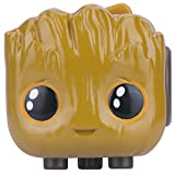 Antsy Labs Marvel Character Fidget Cube Baby Groot Design - Six Functional Sides w/ Anxiety Relief Stone