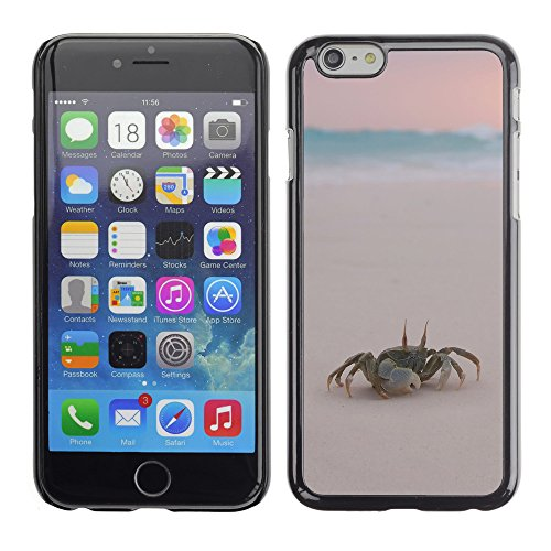 Premio Sottile Slim Cassa Custodia Case Cover Shell // V00003173 crabes sur la plage // Apple iPhone 6 6S 6G PLUS 5.5""
