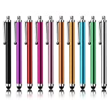 PC Hardware : Stylus Pen LIBERRWAY 10 Pack of Pink Purple Black Green Silver Stylus Universal Touch Screen Capacitive Stylus for Kindle Touch ipad iphone 6/6s 6Plus 6s Plus Samsung S5 S6 S7 Edge S8 Plus Note