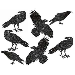 Cuervos decorativos ideales para Halloween