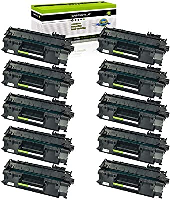 10PK CE505A 05A High Yield Toner Cartridge For HP LaserJet P2035n P2050 P2055dn