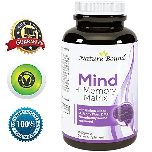 Natures Craft's Super Potent & Natural Brain, Memory & Mind Booster Nootropic Mind Supplement...