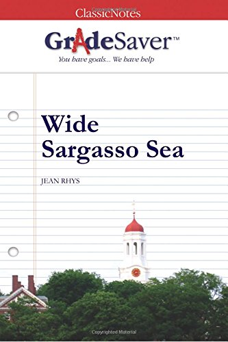 Wide Sargasso Sea Essays  Gradesaver Wide Sargasso Sea Jean Rhys