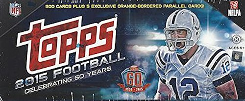 894f912ae 2015 Topps Football Factory Sealed Complete Set w  500 Cards + Exlcusive  5-Card Bonus Pack
