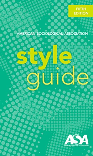 american sociological association style