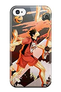 Kingsface Awesome Design Haikyuu case cover For Iphone OPAhSKE5Fx7 4/4s