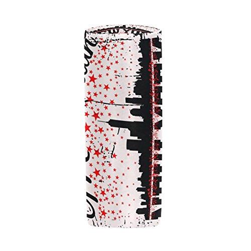 New York CTY Federmäppchen Stift Tasche Multifunktionale Stationery Tasche Reißverschluss Tasche von imobaby, Student Reißverschluss Bleistift Inhaber Tasche Geschenk Travel Make-up Tasche, M090