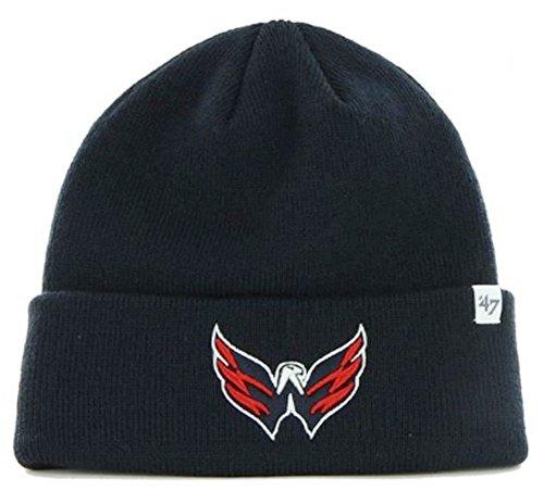 NHL Washington Capitals '47 Raised Cuff Knit, One Size, - Ma Street Boston Washington 1