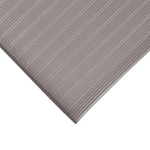 NoTrax Comfort Rest 2' x 5' Silver Floor Mat
