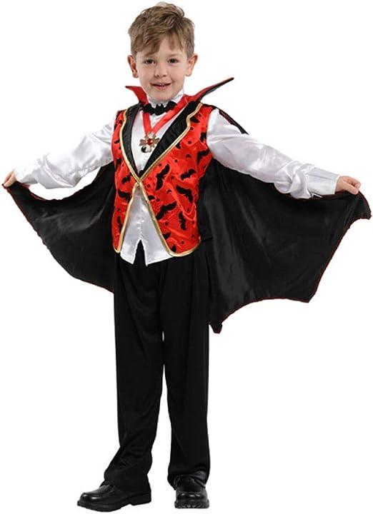 QLQGY Fiesta de Carnaval Halloween Niños Niños Conde Drácula ...