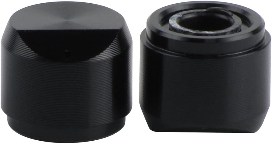 FLEOR 2pcs Audio Amplifier Knobs Effect Pedal Knobs Potentiometer Volume Knobs for ZOOM A3