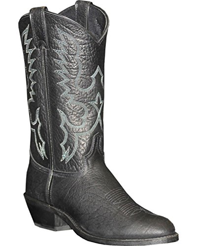 - Abilene Men's Sage Cowboy Boot Medium Toe Black 9.5 EE US