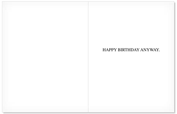 Amazon I Hate You Birthday Card Big Bday With Envelope 85 X 11 Inch