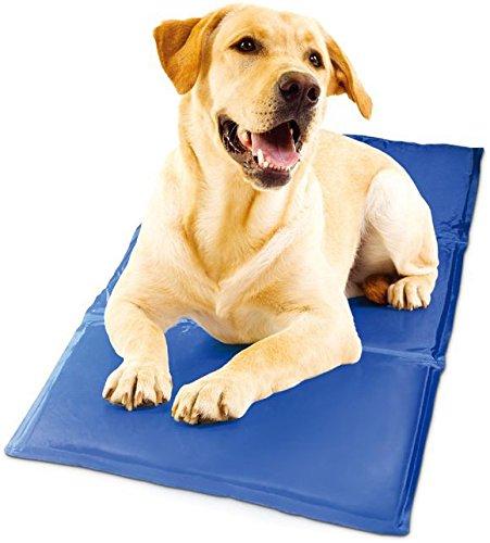 Lily&her friends - Alfombrilla de gel de refrigeración para mascotas, colchoneta de refrigeración, cama