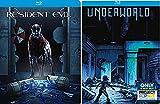 Underworld Exclusive Steelbook + Resident Evil Blu Ray - movie Set Zombies & Vampires