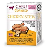 Caru - Chicken Stew For Cats, Natural Cat Food With Added Vitamins, Non-Gmo Ingredients, Complete And Balanced For All Stages Of Life (6 Oz)