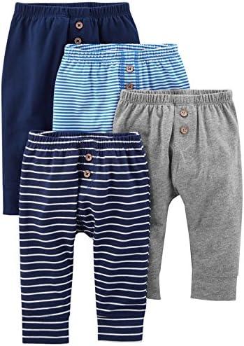 Simple Joys by Carter's paquete de 4 pantalones para bebés