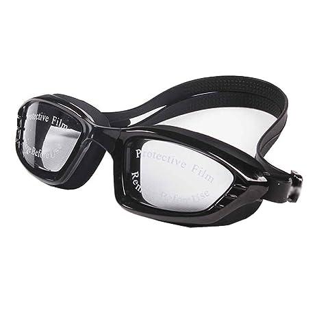 lidahaotin Uomini Donne placchi nuotata Occhiali impermeabile anti nebbia Protezione UV Lens Goggles Beach Surf Eyewear Outdoor rosso mMCNMQ1j7K