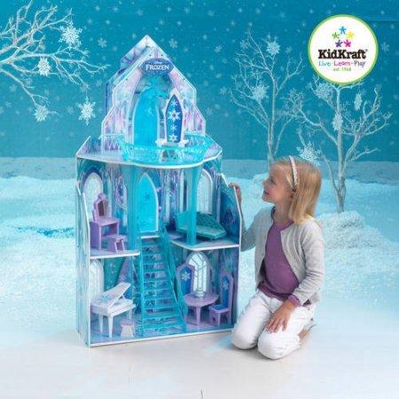 KIDKRAFT Disney Frozen Princess Elsa's Ice Castle Dollhouse