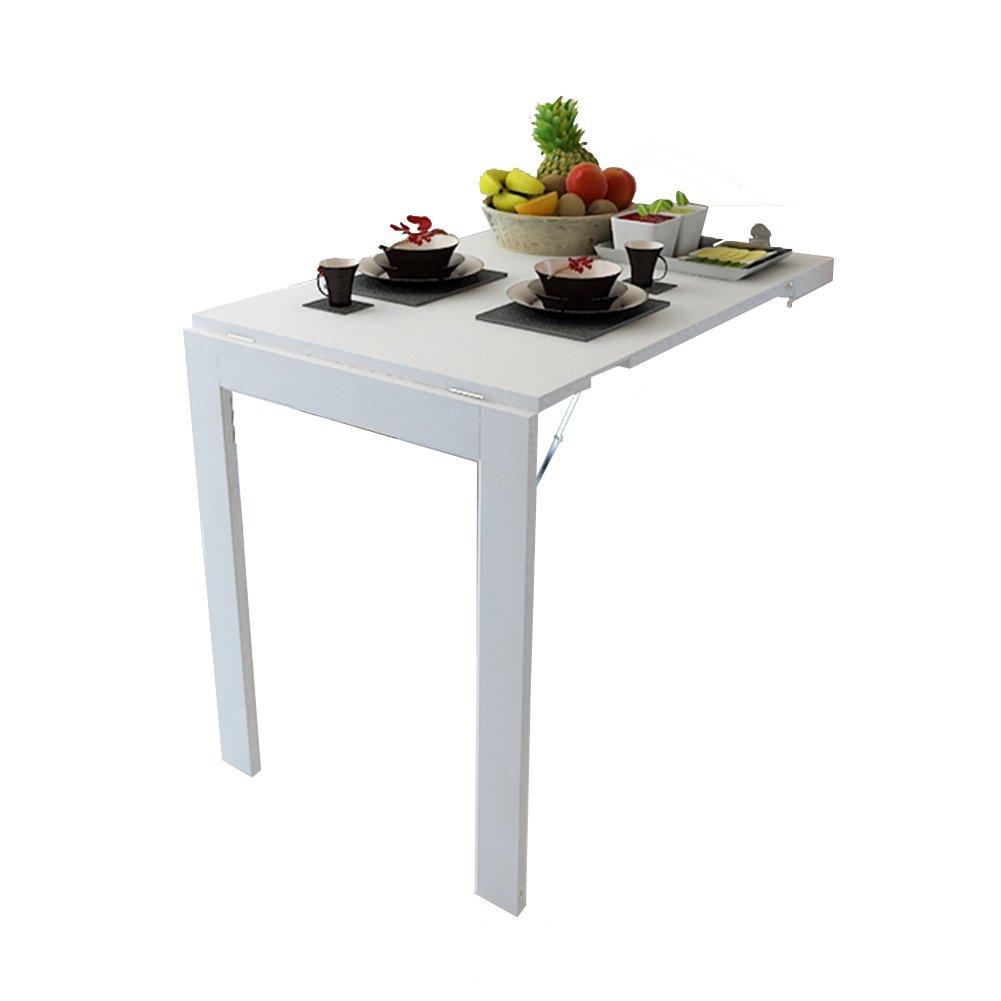 QIN PING GUO Wandklappbarer Esstisch, Esstisch, Esstisch, an der Wand montierter Computertisch, einfacher Lerntisch f02e1a