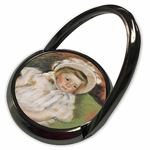 3dRose BLN Paintings of Children Fine Art Collection - Simone in a White bonnet, 1901 by Mary Cassatt - Phone Ring (phr_169639_1) (Simone Collection)