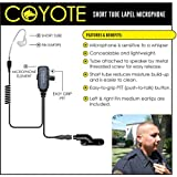 Earphone Connection COYOTE Q-Release Lapel Mic Headset for Vertex VX (See List)
