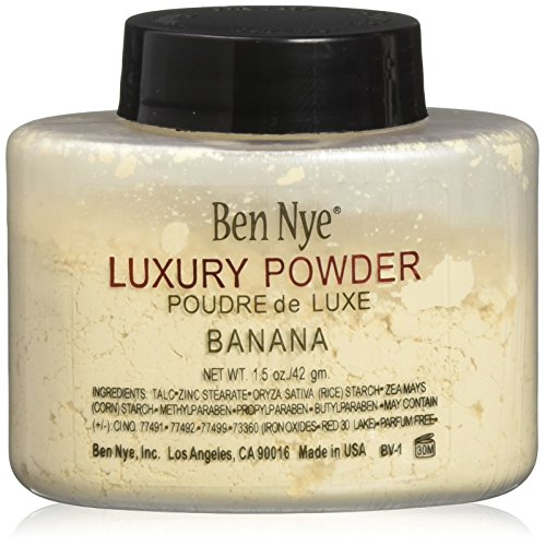 Ben Nye Luxury Powder Face Makeup, Banana, 1.5 ()