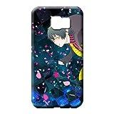 Pretty Mobile Phone Carrying Covers Ao no ekusoshisuto Perfect Design Excellent Samsung Galaxy S7 Edge