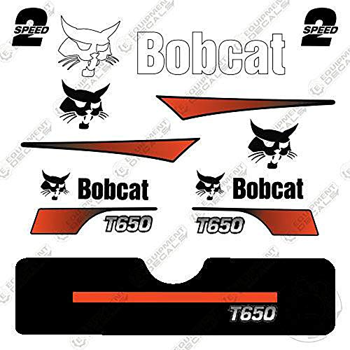 Bobcat T-650 Skid Steer Decal Kit (Curved ()