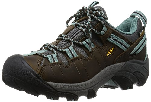 KEEN+Women%27s+Targhee+II+Outdoor+Shoe%2C+Black+Olive%2FMineral+Blue%2C+9.5+M+US