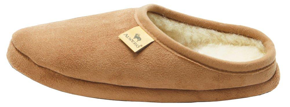 alwero Modo Veloursleder Unisexe Chaussons: Amazon.fr: Chaussures et Sacs