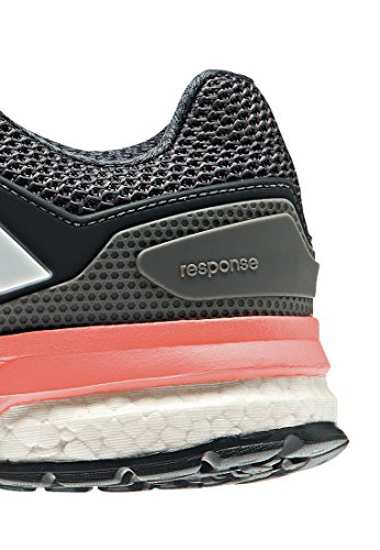 adidas Women's Response Boost 2 Running Shoes Grey (Grey/Ftwr White/Sun Glow S16) jKQ2v