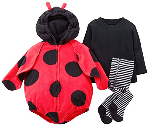 Carter's Baby Girls' Halloween Costume (Baby) - Ladybug - 24 (Baby Ladybug Costume)
