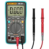 Auto-Ranging Digital Multimeter, Housolution True RMS 8000 Counts Digital Multi Tester Volt Amp Ohm Diode and Continuity Test for Households Electrians Factories, Backlight LCD Display - BICE
