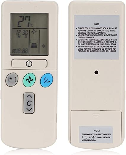 PENG Telecomando Universale climatizzatore Hitachi RAR-3U4 RAR-2P2 RAR-3U3