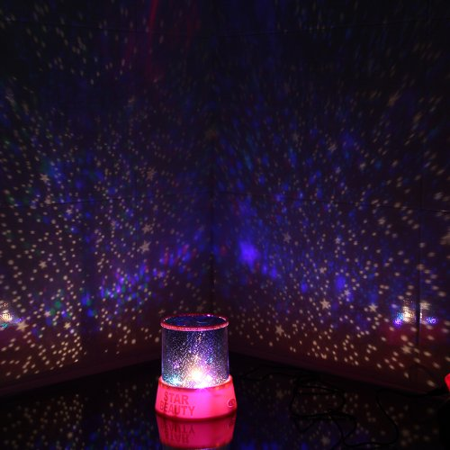 Buy Innoo Tech LED Star Light Projector Night Light Amazing Lamp Master for  Kids Bedroom Home Decoration Red  Blue Appearance Assorted  With USB Cable. Buy Innoo Tech LED Star Light Projector Night Light Amazing Lamp